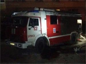 В Брянске ночью сгорела квартира в доме на Почтовой