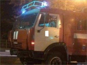 В Брянске ночью сгорела очередная дача около «АэроПарка»