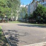 В Брянске завершается капремонт самого большого «комфортного» двора-2020