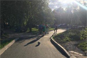 В райцентрах Брянской области активно благоустраивается «Городская среда»