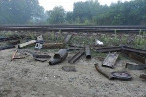Транспортные полицейские поймали на станции Красный Рог очередного вора-«металлиста»