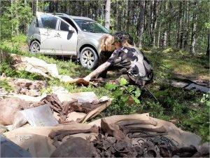 Брянские поисковики разыскали родственников советского солдата, найденного в Латвии