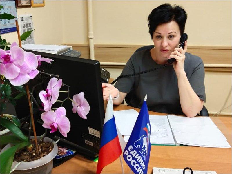 Валентине Мироновой на дистанционном приёме поступили два «водяных» вопроса
