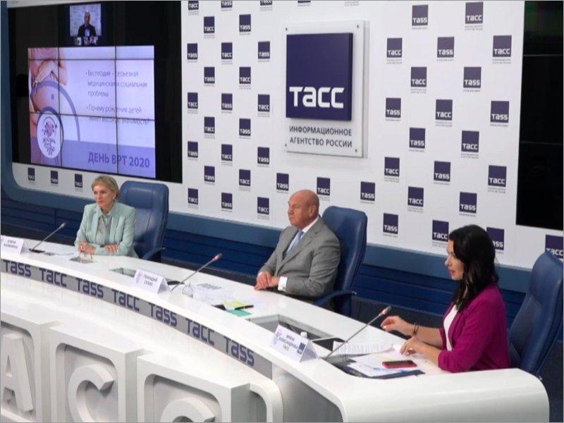 В России уже 300 тысяч детей родились благодаря вспомогательным репродуктивным технологиям