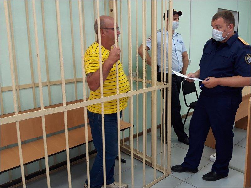 Житель Брянска, обвиняемый в убийстве лопатой, заключён под стражу