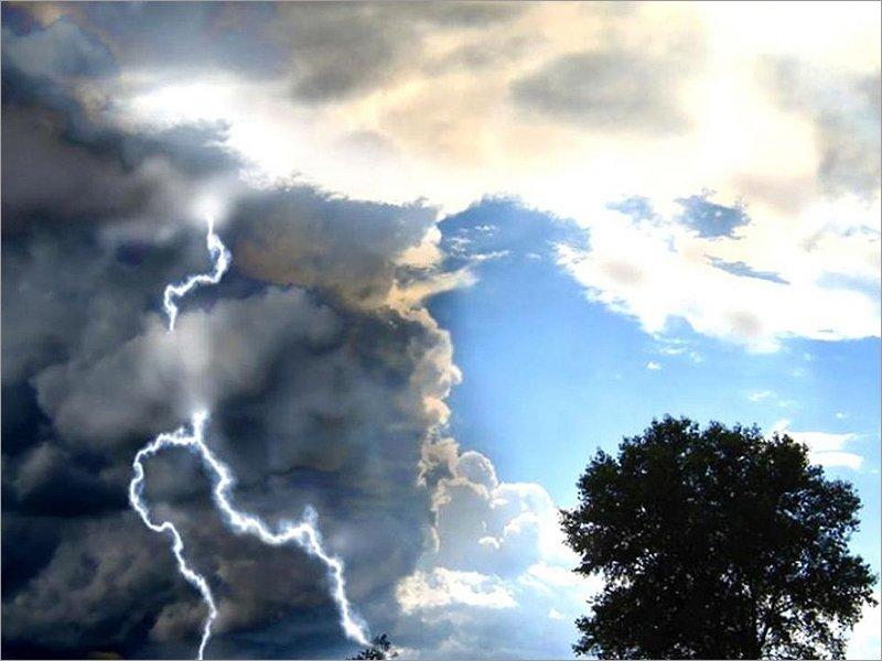 Прогноз на 7 июля: во второй половине дня ожидается гроза с ураганным ветром