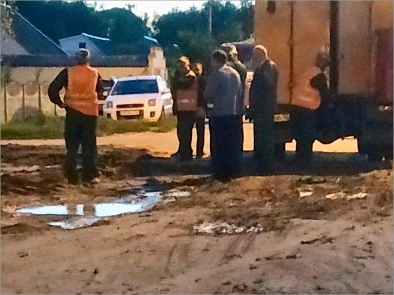 Больше суток сорок домов в Брянске из-за аварии были без воды