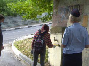 В Брянске задержаны «художники»,  рисовавшие на домах граффити с рекламой наркотиков