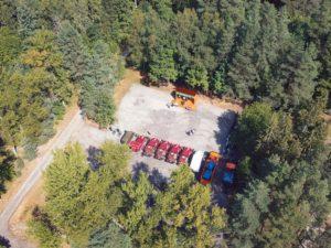 Брянская лесопожарная служба получила автоподарки на день рождения