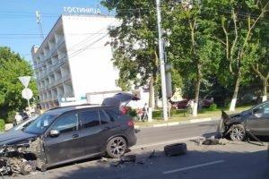 В Брянске на улице Дуки произошло очередное ДТП. Обошлось без пострадавших
