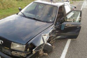 В Клинцовском районе пенсионерка при столкновении иномарок сломала таз и бедро