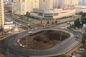 В Брянске готово кольцо на Крахмалёва. Остались съезды