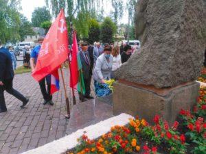 В Брянске почтили память легенды партизанского движения Дмитрия Медведева