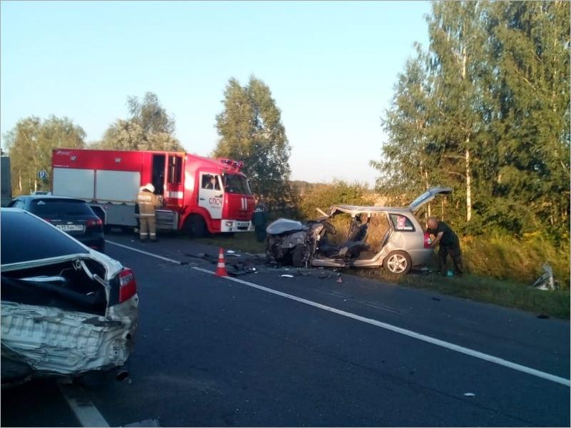 Смертельное ДТП на трассе «Брянск-Новозыбков»: подробности