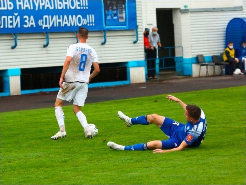 Брянское «Динамо» в первом матче первенства ФНЛ минимально проиграло «Оренбургу»