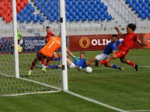 Брянское «Динамо» второй раз подряд уступило с минимальным счётом