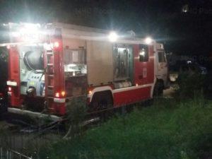 В Брянске около полуночи выгорела квартира, пострадал один человек