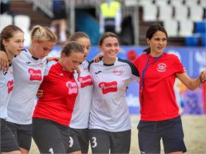 Брянские футболистки заняли пятое место на пляжном чемпионате России