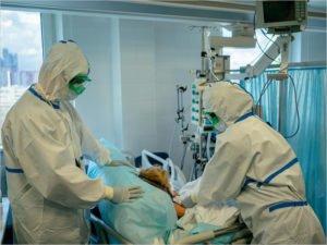В брянских ковидных госпиталях находятся 1330 пациентов