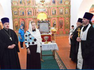 Икона Божией Матери Балыкинская вернулась в Брасово отреставрированной