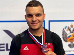 Брянский тяжелоатлет стал бронзовым призёром чемпионата России