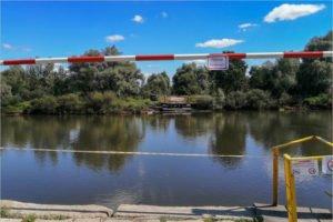 В Брянской области убран автомобильный мост через Десну