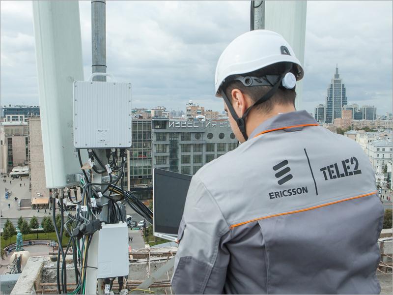 Компания Tele2 установила 25 000 новейших базовых станций Ericsson
