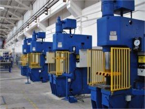 Брянский завод «Термотрон» установил в своих цехах пять новейших прессов