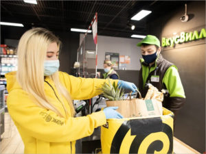 У Яндекс.Еды в Брянске появились собственные «жёлтые» курьеры