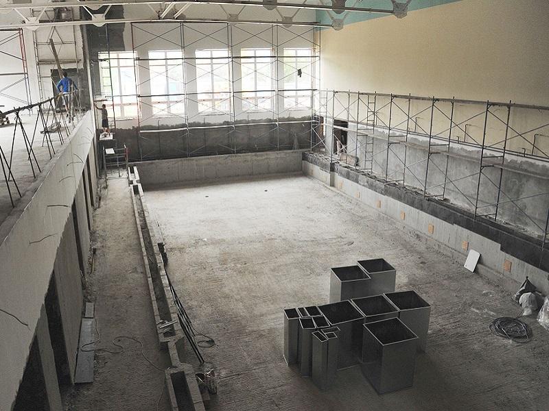 В Брянской области продолжается строительство спортивных объектов: на очереди — Дятьково