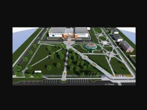 В Жуковке создадут масштабный сквер «Памяти и славы»