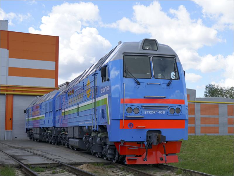 Два брянских тепловоза отправились заказчику в Узбекистан