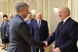 Александр «Батька» Лукашенко собрался в Брянскую область. Строить