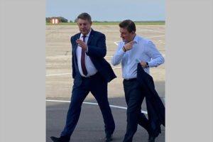 В Брянск прибыл вице-спикер СФ Андрей Турчак. На «Диктант Победы»