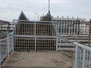 РЖД объявила о начале сноса «капитально ремонтировавшегося» пешеходного моста на вокзале Брянск-Орловский