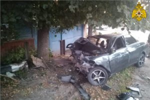 Госавтоинспекция сообщила подробности смертельной аварии в Почепе