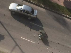 В Брянске насмерть разбился мотоциклист на спортивном байке
