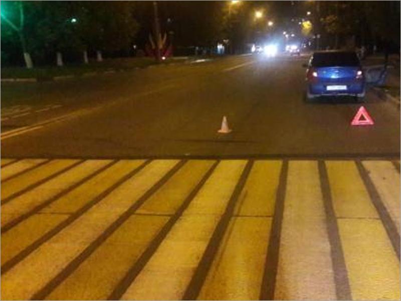 Водитель «Логана» сбил в Брянске женщину на пешеходном переходе