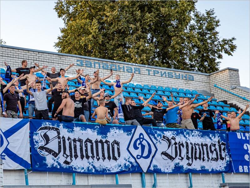 Брянское «Динамо» оштрафовано за матерные кричалки фанатов