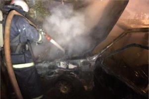 В Брянске ночью сгорела «пятнадцатая». Жертв нет