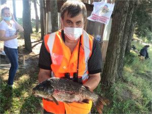 Команда брянского УФСИН отобралась на Кубок правительства области по рыбной ловле