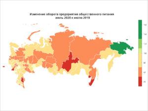 Брянские кафе и рестораны хуже всех в России пережили коронавирусные ограничения