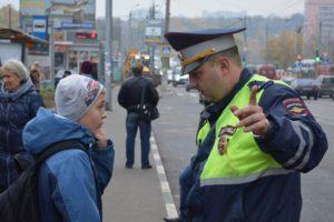 В Брянске патрули ГИБДД 10 и 11 марта высматривают детей-нарушителей на переходах