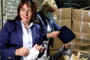 В брянскую «коронавирусную» горбольницу №4 доставлена партия СИЗов
