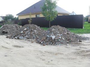 Клинчане возмутились «инновационной» подсыпкой для строительства дороги