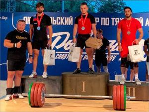 Брянский тяжелоатлет стал победителем всероссийского турнира