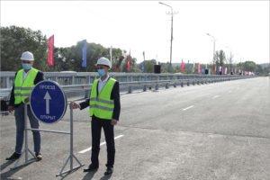 В Брянске открыто движение по новому Литейному мосту. В одну сторону