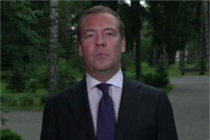 Председатель «Единой России» Дмитрий Медведев поздравил учителей и учеников с Днём знаний