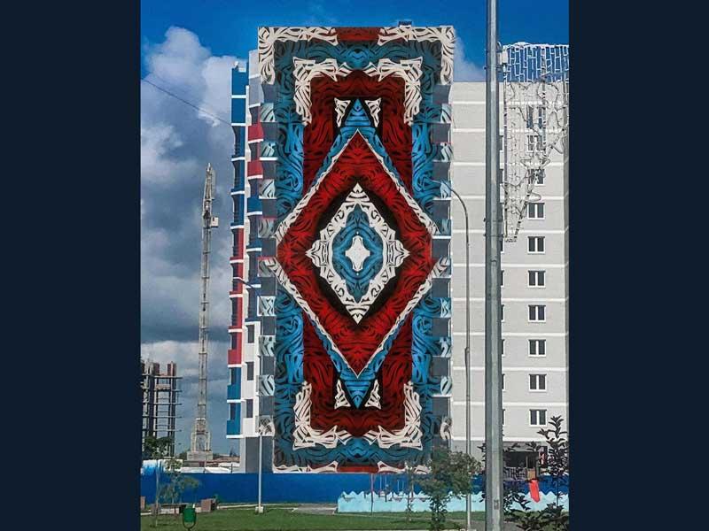 В Брянске стену десятиэтажки украсит первый в городе мурал