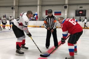 «Красные Звёзды» победили «Партизан» в матче открытия ледового дворца в Стародубе
